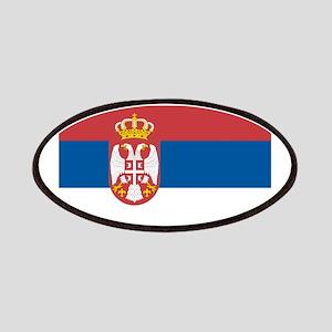 Serbian flag Patch