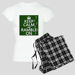 Keep Calm and Ramble On pajamas