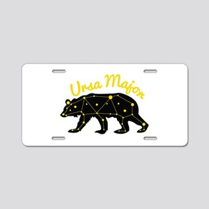 Ursa MAjor Aluminum License Plate