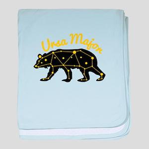Ursa MAjor baby blanket