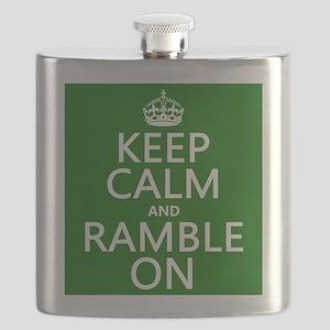 Keep Calm and Ramble On Flask