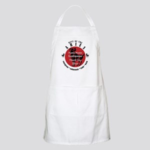 Custom Text Aries Horoscope Zodiac Sign Apron