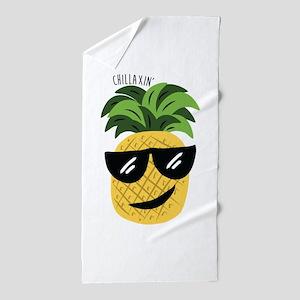Chilaxin Beach Towel
