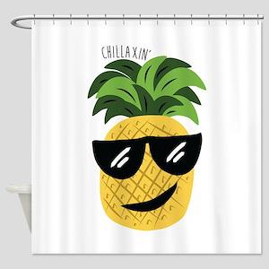 Chilaxin Shower Curtain