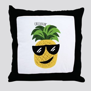 Chilaxin Throw Pillow