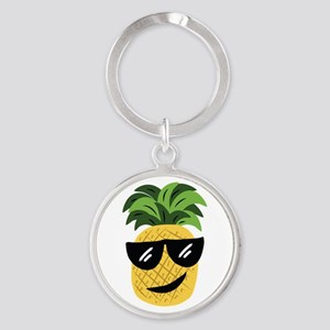 Funky Pineapple Keychains