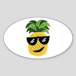 Funky Pineapple Sticker