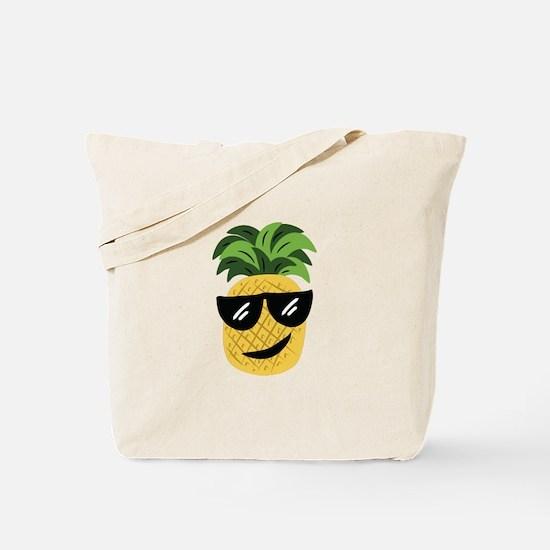 Funky Pineapple Tote Bag
