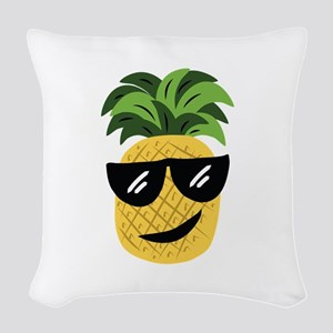 Funky Pineapple Woven Throw Pillow