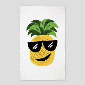 Funky Pineapple Area Rug