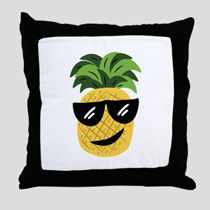 Funky Pineapple Throw Pillow