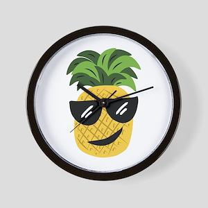 Funky Pineapple Wall Clock