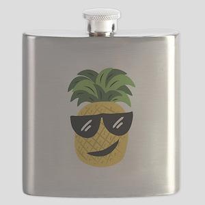 Funky Pineapple Flask