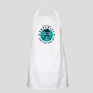 Custom Text Aquarius Horoscope Zodiac Sign Apron