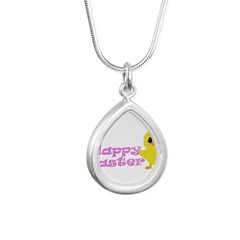 Happy Easter Chick Necklaces