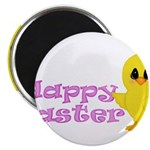 Happy Easter Chick Magnets