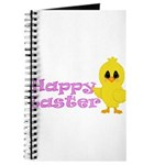 Happy Easter Chick Journal