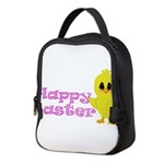 Happy Easter Chick Neoprene Lunch Bag