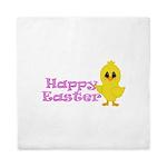 Happy Easter Chick Queen Duvet