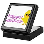 Happy Easter Chick Keepsake Box
