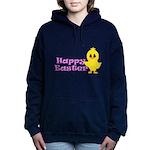 Happy Easter Chick Women's Hooded Sweatshirt