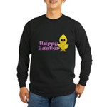 Happy Easter Chick Long Sleeve T-Shirt