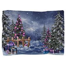 Christmas Landscape Pillow Sham