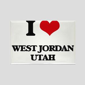 I love West Jordan Utah Magnets