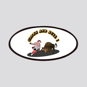 Clown and Bull 1-With-Text Patch