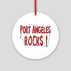 Port Angeles Rocks ! Ornament (Round)