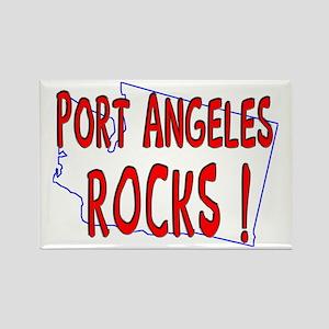 Port Angeles Rocks ! Rectangle Magnet