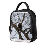 Winter Maple Island Bald Eagle Neoprene Lunch Bag