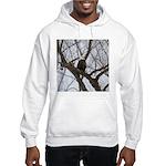 Winter Maple Island Bald Eagle Hoodie