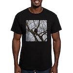 Winter Maple Island Bald Eagle T-Shirt