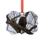 Winter Maple Island Bald Eagle Ornament