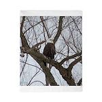 Winter Maple Island Bald Eagle Twin Duvet