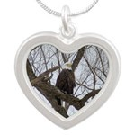 Winter Maple Island Bald Eagle Necklaces