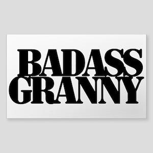Badass Granny Sticker