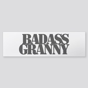Badass Granny Bumper Sticker