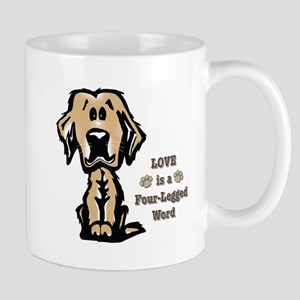Love is a Four Legged Word Mugs