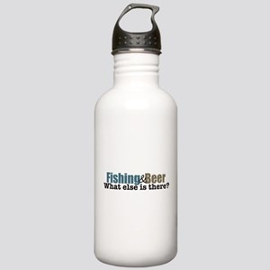 Fishing and Beer Stainless Water Bottle 1.0L