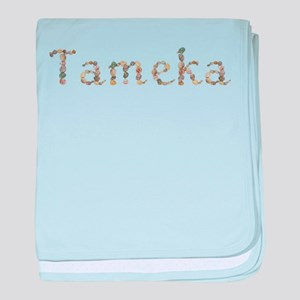 Tameka Seashells baby blanket