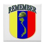 Remember Viet Nam Veterans Tile Coaster