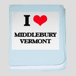 I love Middlebury Vermont baby blanket