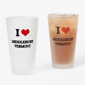 I love Middlebury Vermont Drinking Glass