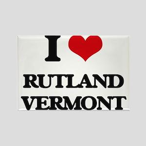 I love Rutland Vermont Magnets