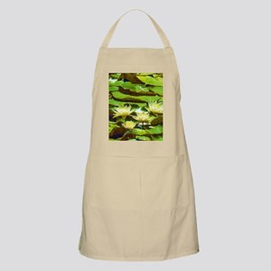 Yellow Water Lilies Apron