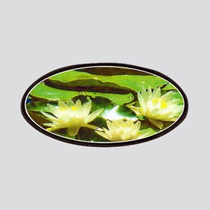 Yellow Water Lilies Patches