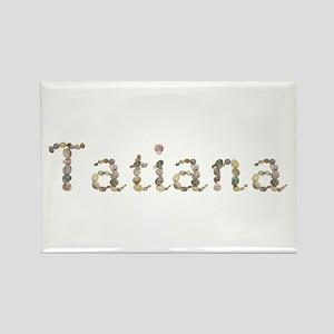Tatiana Seashells Rectangle Magnet