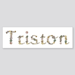 Triston Seashells Bumper Sticker